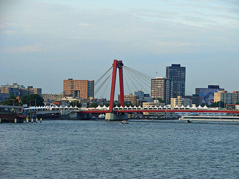 Rotterdam skyline van Frank Kleijn