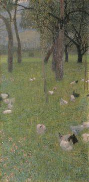 Nach dem Regen, Gustav Klimt