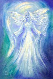 Liefde en Licht - Engel het schilderen van