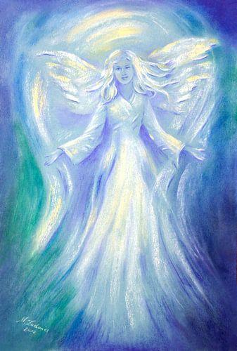 Liefde en Licht - Engel het schilderen