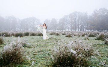 Witte Wieven III van Andrea Loot
