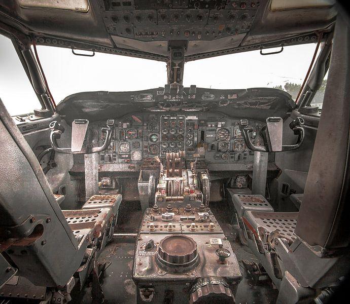 Cockpit Boeing van Olivier Van Cauwelaert
