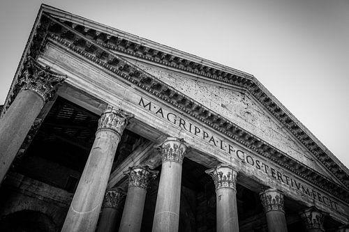 Rome | Romeins Pantheon | Zwart- Wit | Fine Art Photography van Alexander Mol