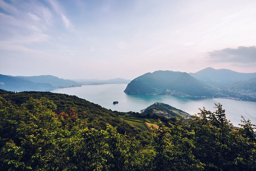 Lake Iseo (Italy) van Alexander Voss