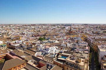 Sevilla von oben von Jolene van den Berg
