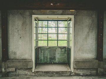 Vierkant raam van Martijn Tilroe