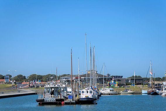 Haven in Nes op Ameland