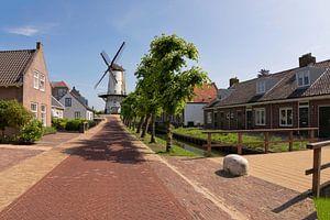Prachtig Straatje in Willemstad van