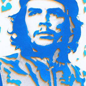 Che Guevara 3 D Paper Art von Felix von Altersheim