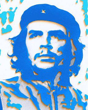 Che Guevara 3 D Papierkunst in 3D van Felix von Altersheim