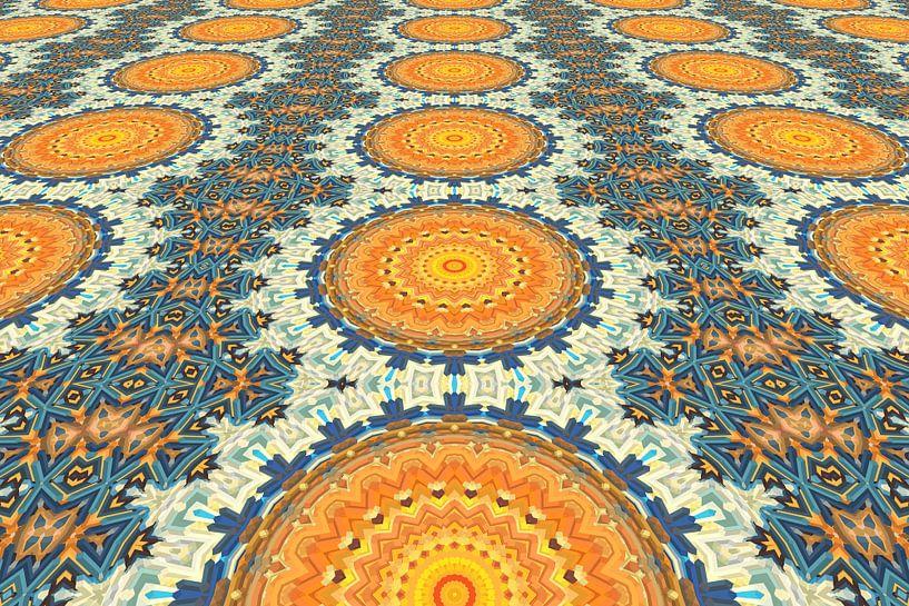 Mandala Perspectief 2 van Marion Tenbergen