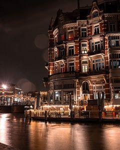 Hotel l'europe captured in the night! van Rolf Heuvel
