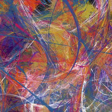 Composition abstraite 416 van Angel Estevez