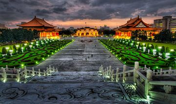Zhongzheng Memorial Park in Taipei, Taiwan van Sven Wildschut