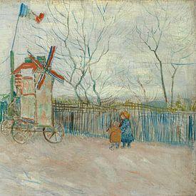 Vincent van Gogh, Impasse des Deux Frères van 1000 Schilderijen