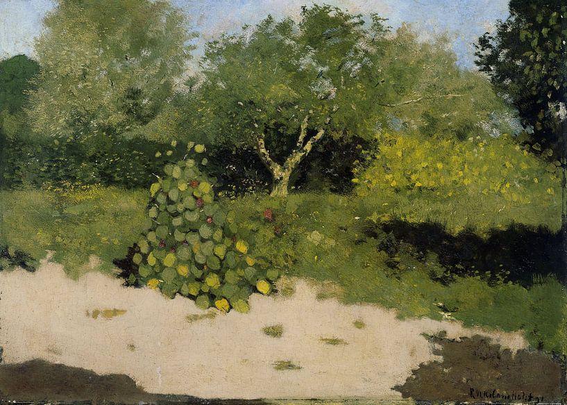Gartenecke mit ostindischer Kirsche, Richard Nicolaüs Roland Holst von Marieke de Koning