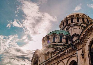 Bulgaarse kathedraal in Sofia van Sander Wesdijk