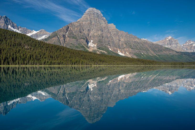 Waterfowl Lake van Peter Vruggink