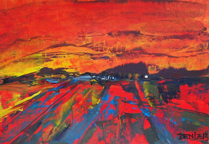 Abstracte landschap