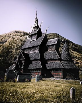 Stavkirkye Borgund van Joris Machholz