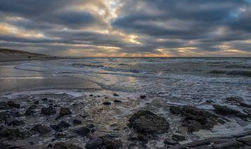 Het prachtige strand van Den Helder van Natascha Worseling