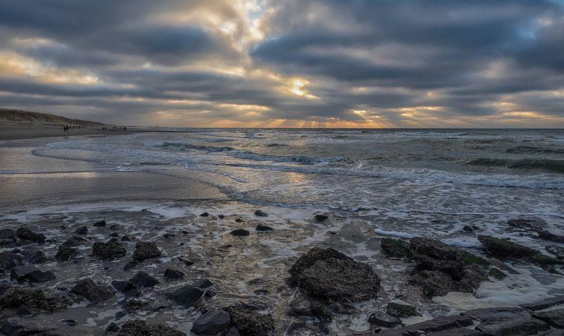 Der schöne Strand von Den Helder von Natascha Worseling