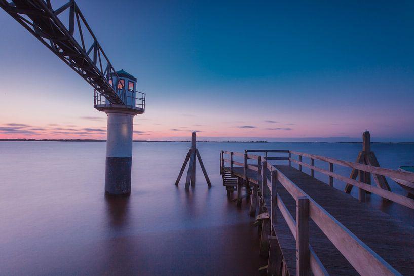 Lichtbaken in Friesland van Tom Roeleveld