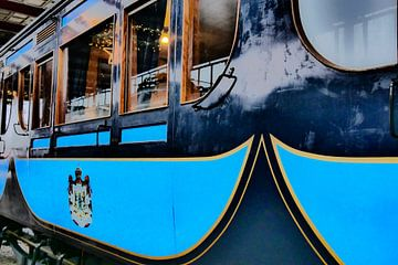 Spoorwegmuseum - Koninklijke wagon van Wout van den Berg