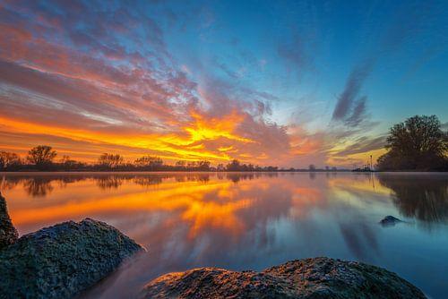 Sky on Fire van Sander Peters Fotografie