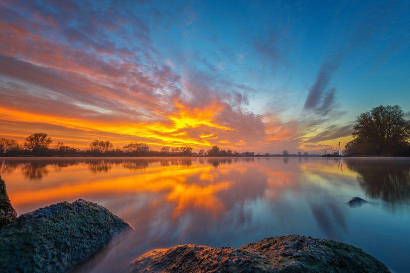 Himmel auf Feuer von Sander Peters Fotografie