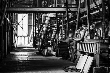 Alte Fabrikhalle von Bart Rondeel
