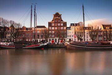 Historischer Hafen von Dordrecht von Ilya Korzelius