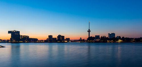 Skyline Rotterdam met Euromast
