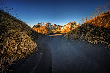 Stokksnes sunrise van Wojciech Kruczynski