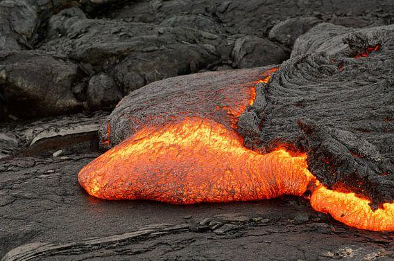 Lavastrom auf Hawaii