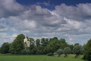 Blick auf ein Dorf von Bennie Eenkhoorn