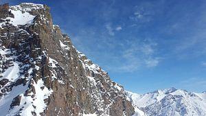 Besneeuwde bergen van Keline van Dijk