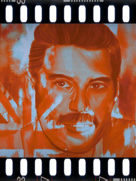 Freddie Mercury Pop Art PUR  van Felix von Altersheim
