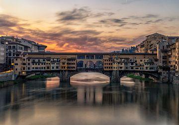 Ponte Vecchio Florence  van Mario Calma