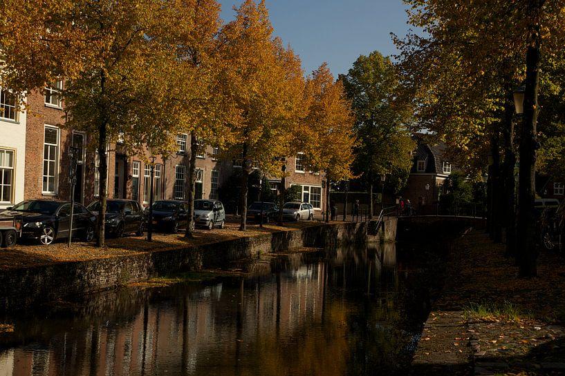 Herfstkleuren in Amersfoort van Stephan van Krimpen