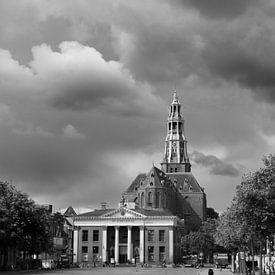 Korenbeurs en Aakerk van Iconisch Groningen
