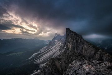 Sturm Dolomiten von Peter Poppe