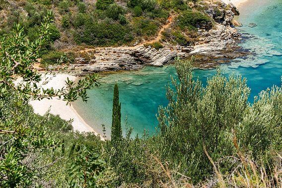 Mooi mediterraans strand