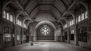 Verlassene Sporthalle in Beelitz