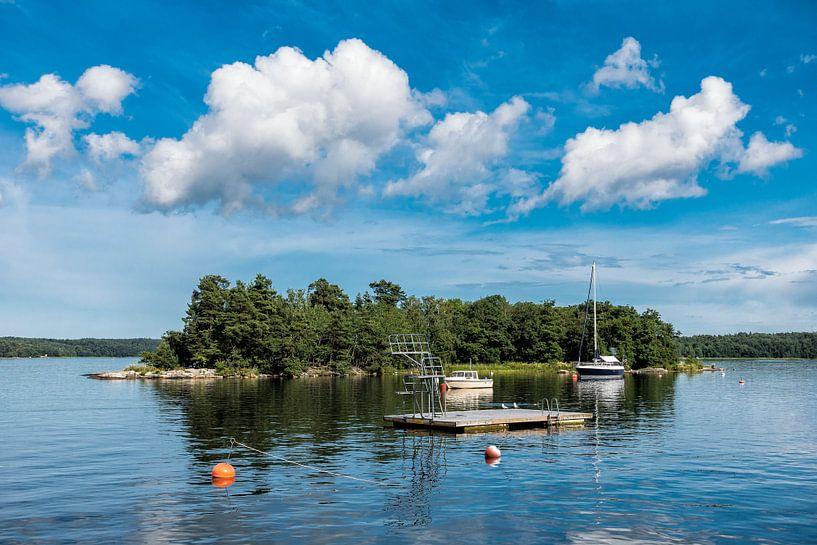 Schärengarten an der schwedischen Küste von Rico Ködder