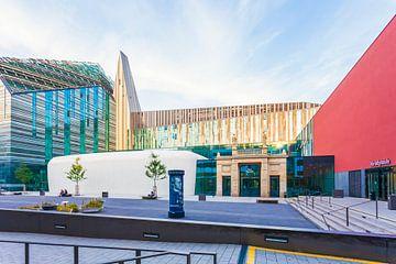 Universitaire campus in Leipzig van Werner Dieterich