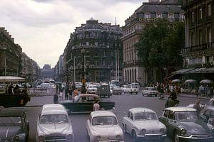 Vintage foto 1963 Parijs