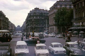 Vintage foto 1963 Parijs sur Jaap Ros