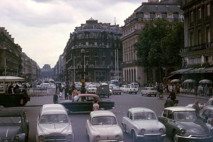 Vintage foto 1963 Parijs van Jaap Ros