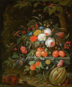 Blumen und Früchte, Abraham Mignon